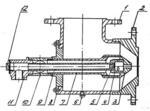 Горелка комбинированная газомазутная