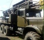 Передвижная бурильная установка ПБУ-200