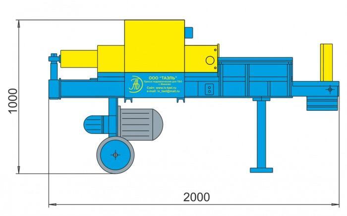Колун гидравлический ПГП-6К