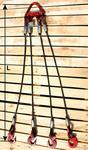 Строп канатный с четырьмя крюками 4СК (ГОСТ 25573-82)