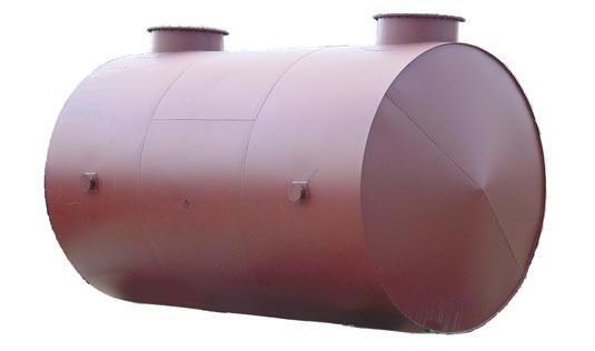 Резервуар горизонтальный стальной двухстенный РГСПД-25