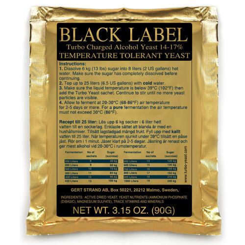 Дрожжи Black Label