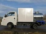 Молоковоз Hyundai Porter 2 с фургоном, гибрид на шасси Hyundai