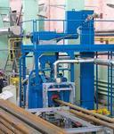 Установки дробеметной очистки для обработки труб
