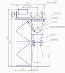 Дозатор фасовочный шнековый одноканальный