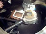 Вакуумная печь для плавки платины