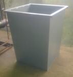 Контейнер бак для ТБО и мусора 0,75 куб.м
