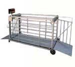 Весы с подвесной клеткой для взвешивания скота, серия ВТП-СК