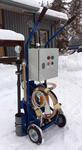 Мобильная маслозаправочная станция для заправки компрессора