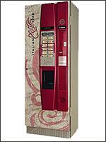 Торговый автомат по продаже горячих напитков Saeco Cristallo 400