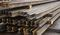 Рельс Р50Т1 новый длиной 12,5 метров с отверстиями для промышленных путей ГОСТ 51685-2000