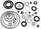 Детали резиновые и резинометаллические к автомобилям КамАЗ