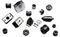 Детали резиновые и резинометаллические технические к промышленным тракторам