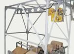 Оборудование для изготовления крафт-мешков ППМ-3Э подъемно-перемещающий механизм