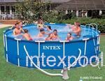 Каркасный бассейн 457x122 см. INTEX 54946