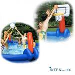 Надувной набор волейбол/баскетбол INTEX 58506