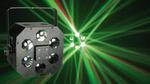 Дискотечный эффект с мощным 9-ти ваттным светодиодом Koollight Kub Led