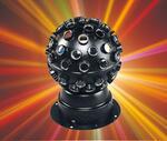 Дискотечный эффект  вращающийся шар  с мощным 9-ти ваттным светодиодом Koollight Stered