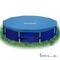 Крышка, Тент, чехол, покрывало для бассейнов 366 см INTEX 58411