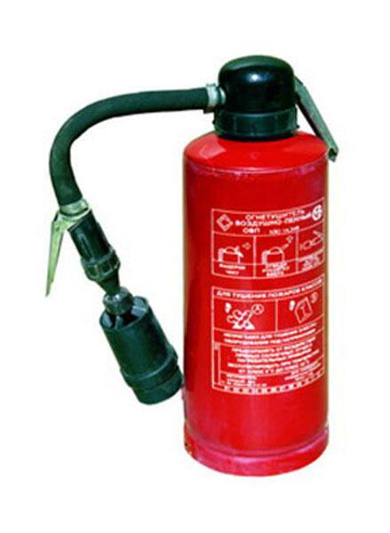 Пенный огнетушитель своими руками 22
