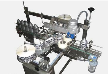 Этикетировочный автомат на самоклейку 3000 бут/час, 3000 Э-У, с датчиками и штативом в комплекте