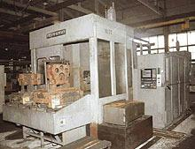 Горизонтальный обрабатывающий центр модели ИС800ПМФ4 с УЧПУ NC-100