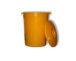 Бак для медицинских отходов жёлтый 10 л