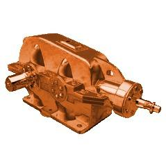 Коническо-цилиндрический редуктор КЦ1 400