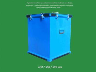 Герметичные контейнеры для ртутьсодержащих приборов