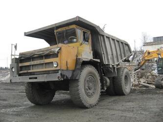 Самосвал Белаз-75405