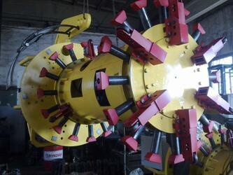 Установка для обработки торцев труб СПК 121 МТ