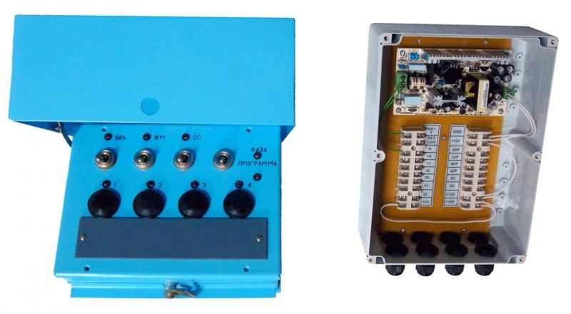 Пульт светофорный для автошкол ПСА-1