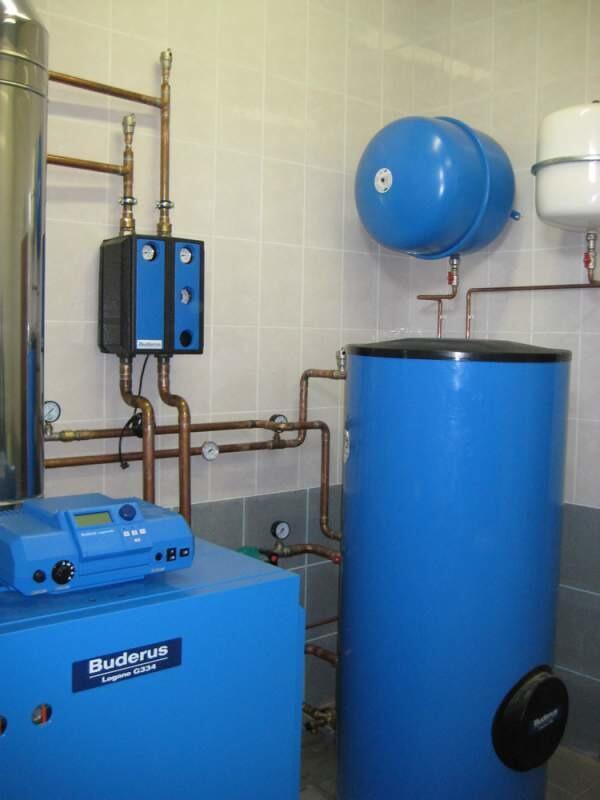 Автономное газовое отопление загородного дома под ключ