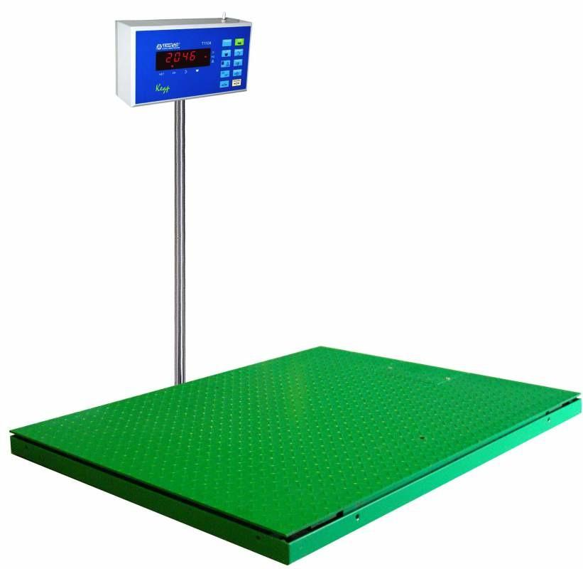 Весы платформенные низкопрофильные Скат