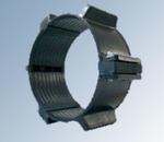 Кольца опорные сегментные с резиновой вставкой