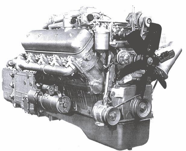 Ремонт своими руками двигатель ямз