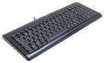 Клавиатура Logitech Ultra-Flat Mako black PS/2+USB