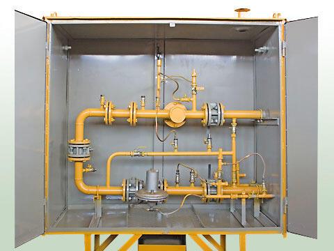 Газорегуляторный пункт шкафной ГРПШ-05-2У1