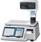 Весы торговые с печатью штрих-кода на этикетке CAS LPII