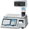 Весы с принтером для печати штрих-кодов CAS LPII и встроенной сетевой картой