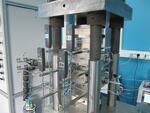 Установка для измерения проводимости проппантовой упаковки ПИК-API RP 61