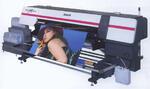 Широкоформатный текстильный принтер