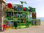 Детские лабиринты для улицы