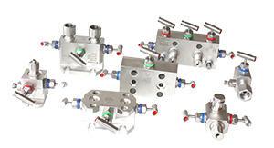 Клапанные блоки к датчикам давления