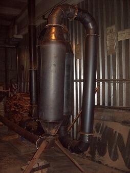Сушилка древесины аэродинамическая, мощность 500 кг/час