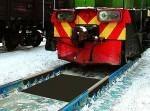 Весы железнодорожные (вагонные)взвешивание в статике и потележечно