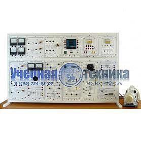 Типовой комплект учебного оборудования «Электрические машины и электропривод с универсальной машиной переменного тока», исполнение настольное ручное, ЭМиЭП2-НР