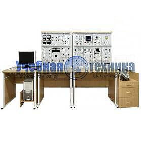 Типовой комплект учебного оборудования «Электрические машины и электропривод», исполнение стендовое компьютерное, ЭМиЭП-СК