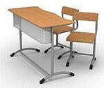 Столы и стулья- ростовые, ученические