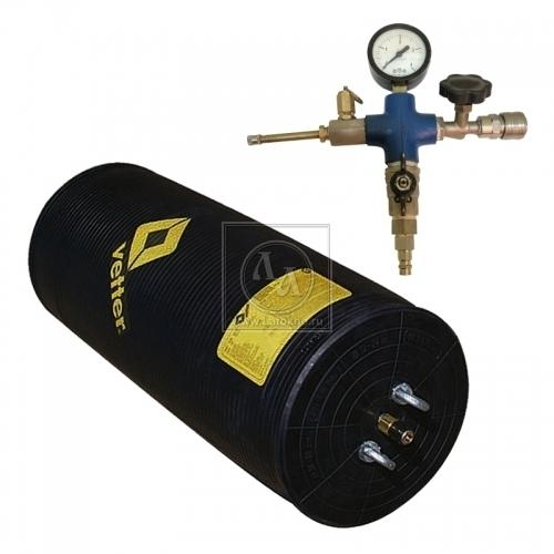 Аренда, прокат пневмозаглушки, герметизатора для труб диаметром 200-400 мм с компрессором ПЗУ-2 КМВ (Россия)